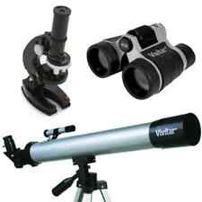 3 IN 1 25Pcs Vivitar Telescope, Microscope & Binocular Kit.