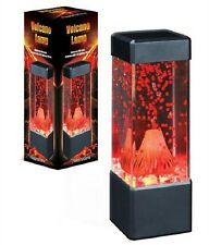 Volcano Lamp Eruption Lava Desk Accessory Night Light by Fascinations