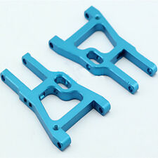 102019 Blue Aluminum Front Lower Suspension Arm 2P RC HSP For 1/10 On-Road Car