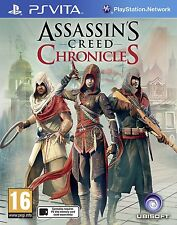 The Assassin's Creed Chronicles Trilogy Pack PS VITA GAME USED IN GOOD CONDITION
