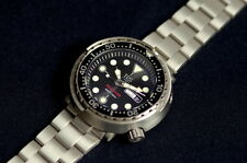 TPS-Tempus Pro Diver Titanium made ! Seiko Tuna diver watch