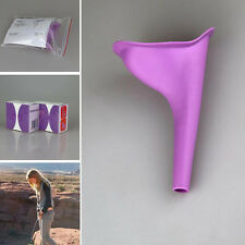 Fashion Female Women Aid Urinal Urine Funnel Camping Travel Toilet Urine Device
