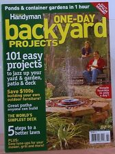 1-DAY BACKYARD PROJECTS Magazine 101 Easy Projects PONDS & CONTAINER Gardens