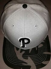 PHILADELPHIA PHILLIES MLB FORTY SEVEN 47 GREY BLACK FITTED HAT 7 5/8 CAP NEW