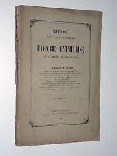 Docteur V. Nivet L'ÉPIDÉMIE DE FIÈVRE TYPHOÏDE DE CLERMONT-FERRAND EN 1886 Royat