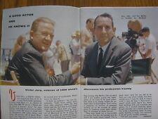 1960 TV Guide(VICTOR  JORY/PAT  McVEY/BOB  NEWHART/PETER  BROWN/CLAUDIA  BARRETT