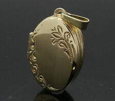 9Carat Yellow Gold Oval 'Family Album' Locket (16x22mm)