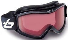 NEW BOLLE MOJO BLACK FRAME VERMILLON LENS SKI SNOWBOARD GOGGLES - 20571