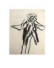 Willem DE KOONING Original LITHOGRAPH No. LIMITED Ed. 55x44cm +Custom FRAMING