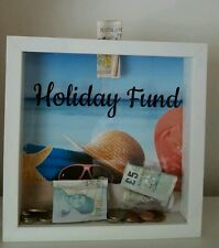 Shadow box fund money box Holiday,shoes,wedding ,baby,adventure, Savings Gift