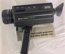 Vintage Super-8 Bell & Howell 2123 XL Movie Camera 8.5-24mm f/1.4 Zoom
