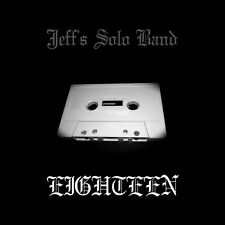 Jeff's Solo Band 'Eighteen' EP on Limited Edition Cassette (Black Metal)