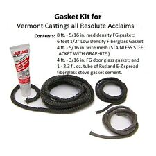 Vermont Castings Gasket Kit all Resolute Acclaims  Stove 000-3421 3421