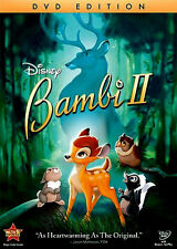 Disney Bambi 2 Sequel Bambi II on DVD Patrick Stewart The Great Prince of Forest