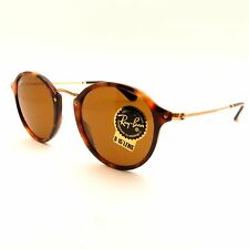 Ray Ban RB 2447 1160 Spotted Brown Havana B15 Green 100% Authentic Sunglasses