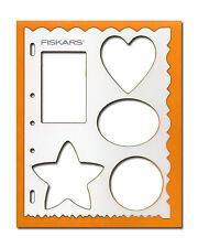 ORIGINALE FISKARS Shape cutter taglio Stencil Stencil simboli (4861)