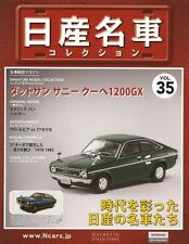 [MODEL+BOOK] Nissan meisha collection vol35 1/43 Datsun Sunny Coupe 1200GX Japan