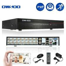 DVR CCTV Security Motion Detection 16CH Full CIF H.264 P2P Network New L8B9