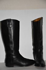 COLE HAAN COUNTRY Round Toe Black Leather Roper Style Cowboy Western Boots Sz 9