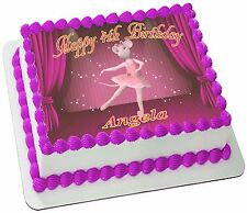 Angelina ballerina cake toppers ebay for Angelina ballerina edible cake topper decoration sale