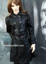 1/3 BJD 70cm Iplehouse EID hero Soom ID72 male doll outfits black leather coat