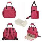 Wickeltasche Pflegetasche Windeltasche Babytasche Reisetasche Tragetasche Rot