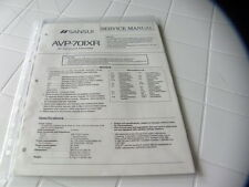 Sansui Factory Original Service Manual AVP-701XR  AV Surround Processor