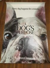 A Dog's Purpose DS Theatrical Movie Poster. Big 47x70