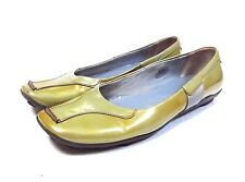 Prada Women's Metallic Patent Leather Sport Loafers Size 37.5 / 7.5