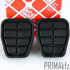 2x Febi Pedale Gomma Pedale pavimentazione per freno e frizione AUDI SEAT VW PASSAT t4 IV
