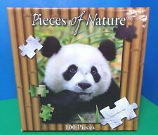 """Planet Zoo Pieces Of Nature 100 Pieces Puzzle Giant Panda 14"""" x 19"""" New sealed"""