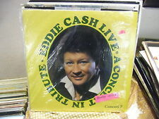 Eddie Cash Live in Tribute To Beatles Don Ho LP VG+ Private Press IN SHRINK