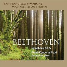 Beethoven: Symphony No. 5; Piano Concerto No. 4 Super Audio CD (CD, Feb-2011)