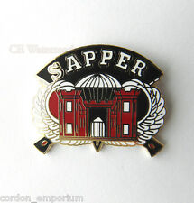 UNITED STATES ARMY ENGINEERS SAPPER SPECIAL FORCES LAPEL PIN BADGE 1 INCH