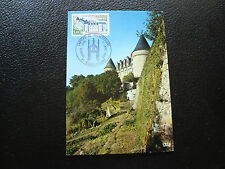 FRANCE - carte 1er jour 11/1/1975 (chateau de rochechouart) (cy59) french (A)