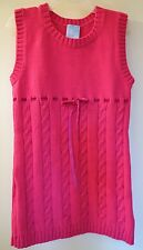 New With Tags Bella Bliss Pink Sweater Knit Dress / Jumper ~ Girl's Size 5