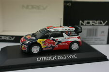 Norev 1/43 - Citroen DS3 WRC Winner Rallye Portugal 2011