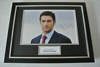 Richard Armitage SIGNED FRAMED Photo Autograph 16x12 display Spooks TV Film COA