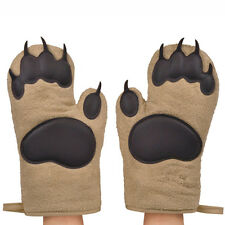 Fred & Friends BEAR HANDS Oven Mitts Pair Set of 2 Kitchen Baking Cute Fun Gift