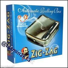 Zig Zag Automatic Tobacco Smoking Cigarette Rolling Machine Tin Box Smokers