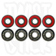 "IROC - ABEC-7 Type Red ""Mega Speed"" Skateboard Bearings - 8 Pack - FREE DELIVERY"
