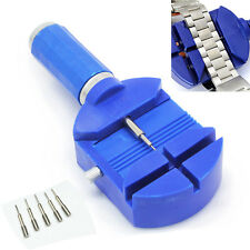 New Adjustable Watch Band Strap Bracelet Link Remover Repair Tool +5 Extra Pins