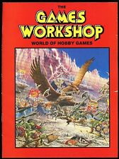 The Games Workshop World of Hobby Games Brochures (1992 32 pages/1997 40 pages)