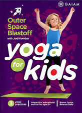 YOGA FOR KIDS:  OUTER SPACE BLASTOFF WITH JODI KOMITOR-NEW & SEALED REGION 1 DVD