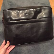 Kenneth Cole Leather Document Case Briefcase New with Tags
