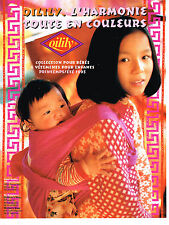 PUBLICITE ADVERTISING 094  1993  OILILY   collection vetements enfants bébés