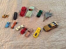 LOT OF 13 VINTAGE TOY VEHICLES MATCHBOX MIDGET TOOTSIE TOMICA COWLAND JVZCO