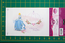 DISNEY CINDERELLA PRINCESS APPLIQUE IRON ON TRANSFER WRIGHTS FABRIC 1939623001