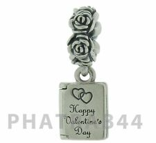 Authentic Pandora Sterling Silver Valentine's Love Note Charm 791246