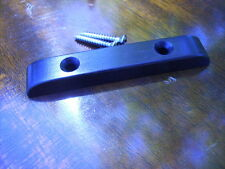 Ebony Bass Guitar Thumb Rest ~~~ Low Profile Design